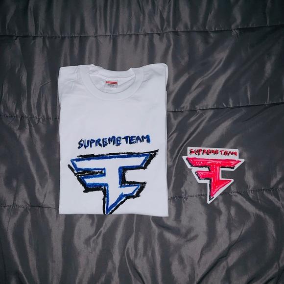 Rare Faze Clan The Supreme Team Long Sleeve Tee Nwt